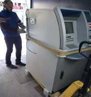 bankomatupervezimai